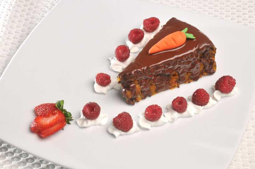 Torta De Zanahoria Y Nueces Cubiertas Con Chocolate Recetas El Universo Fécula de maíz 100 grs. torta de zanahoria y nueces cubiertas con chocolate
